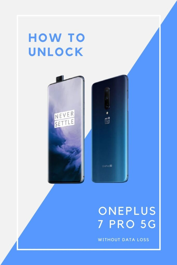 how to unlock OnePlus 7 Pro 5G